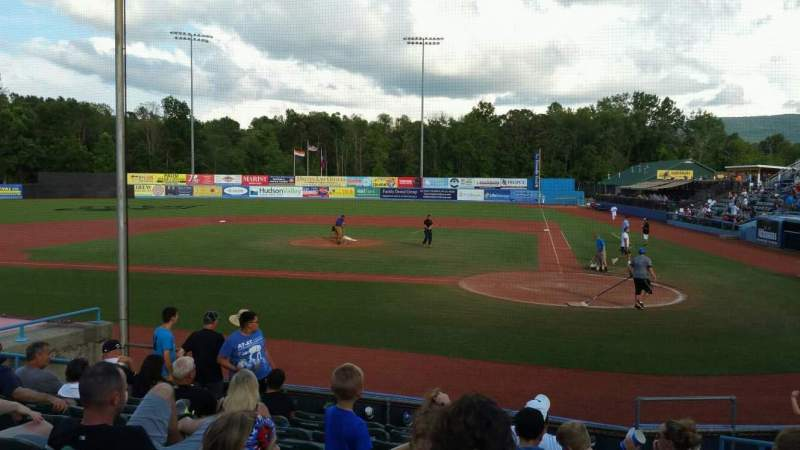 Seating view for Dutchess Stadium Section 108 Row J Seat 11