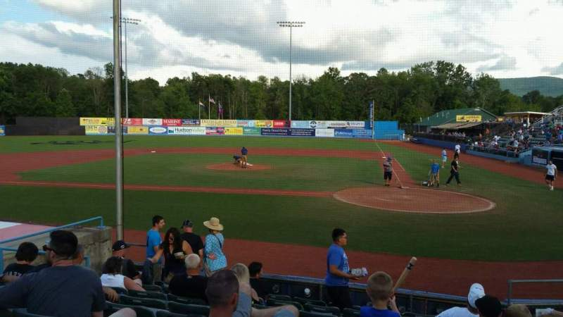 Seating view for Dutchess Stadium Section 108 Row J Seat 9