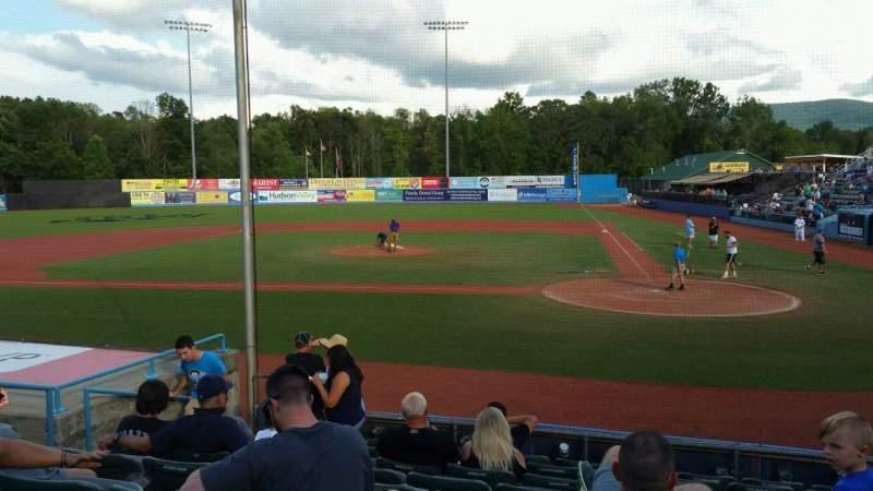 Dutchess Stadium, section: 108, row: J, seat: 7