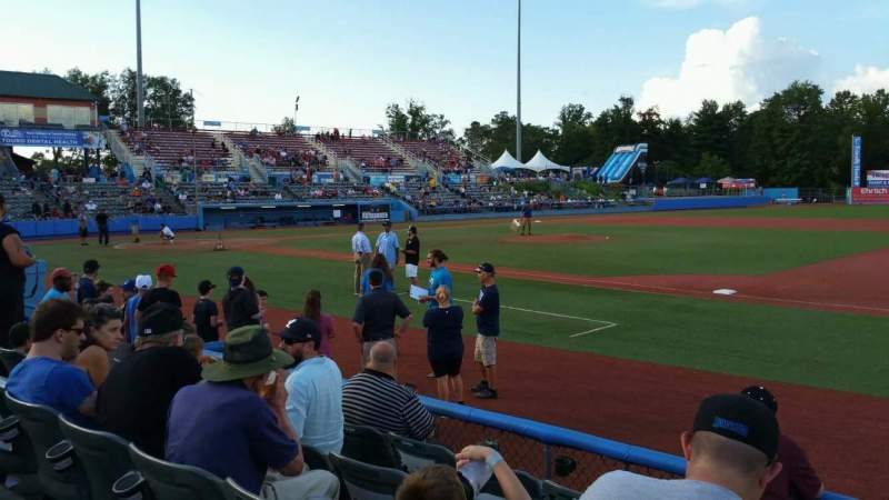 Seating view for Dutchess Stadium Section 101.5 Row E Seat 12