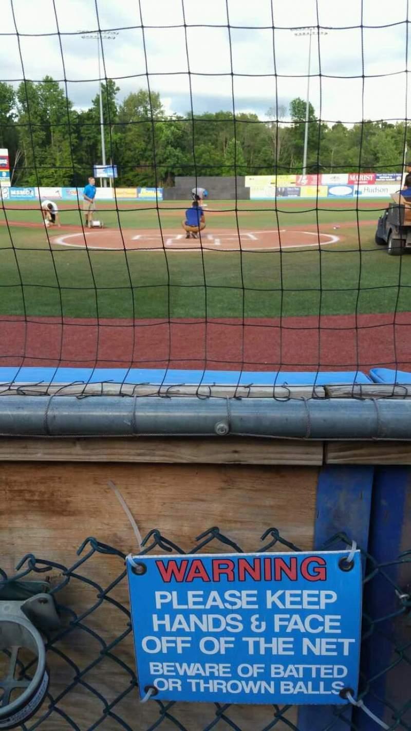 Dutchess Stadium, section: 106, row: A, seat: 9