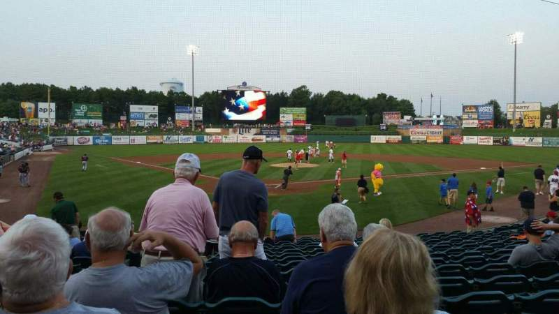 FirstEnergy Park, section: 107, row: 16, seat: 20