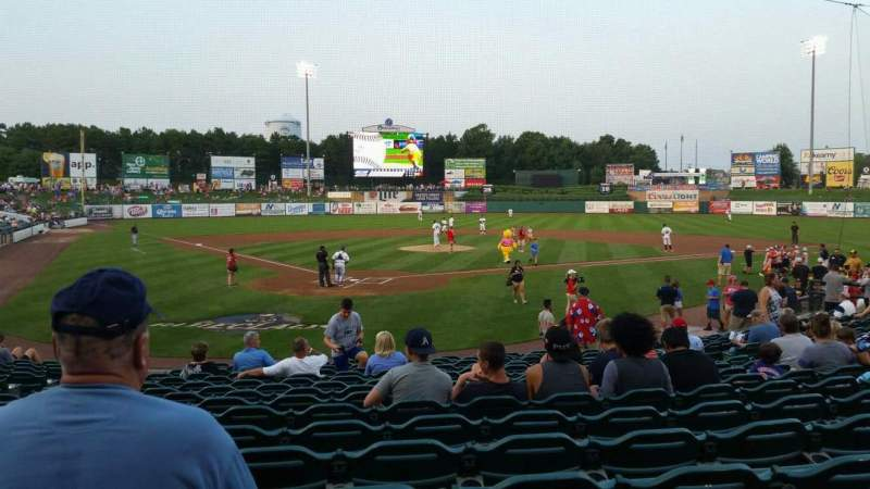 FirstEnergy Park, section: 107, row: 16, seat: 14
