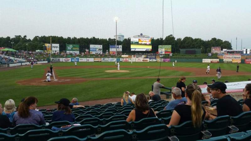 FirstEnergy Park, section: 106, row: 12, seat: 12