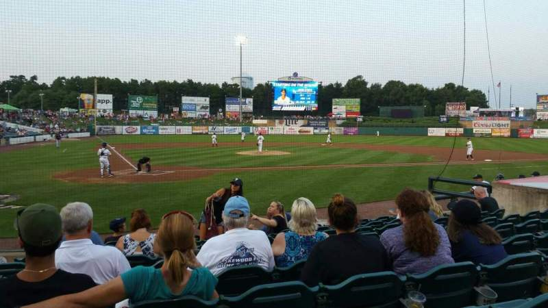 FirstEnergy Park, section: 106, row: 10, seat: 16