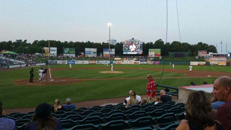 FirstEnergy Park, section: 106, row: 10, seat: 11