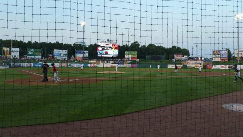 FirstEnergy Park, section: 107, row: 2, seat: 1