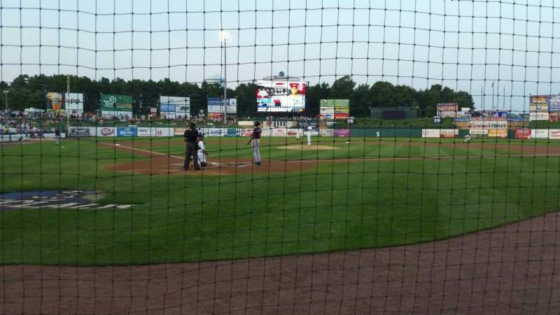 FirstEnergy Park, section: 107, row: 2, seat: 5