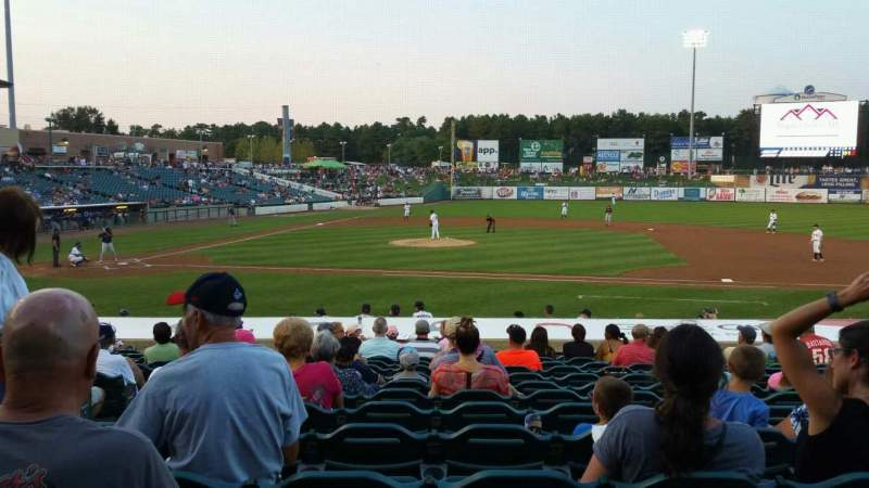 FirstEnergy Park, section: 104, row: 18, seat: 19