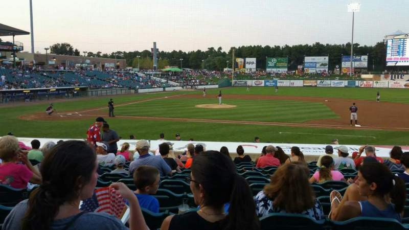 Seating view for FirstEnergy Park Section 104 Row 17 Seat 16