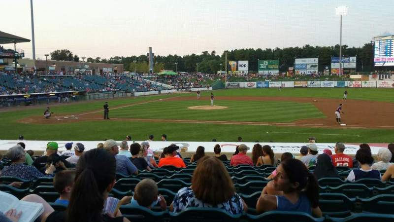 Seating view for FirstEnergy Park Section 104 Row 17 Seat 15
