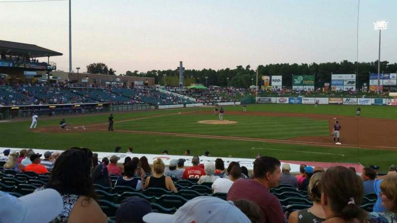 Seating view for FirstEnergy Park Section 104 Row 17 Seat 7