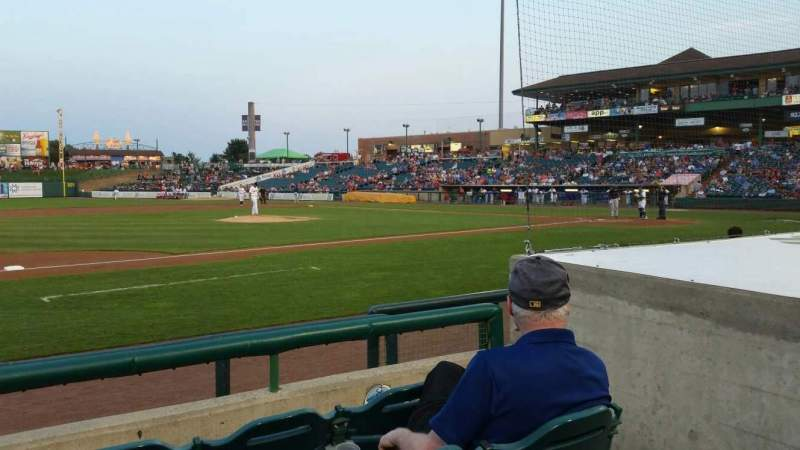 FirstEnergy Park, section: 113, row: 6, seat: 4