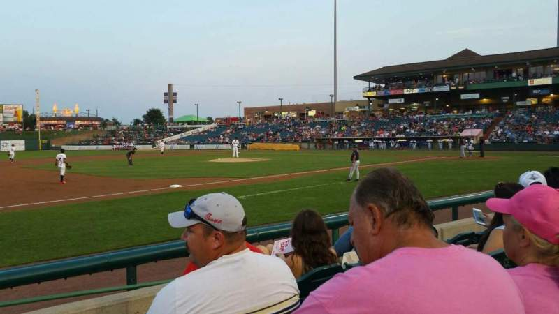 FirstEnergy Park, section: 113, row: 6, seat: 19