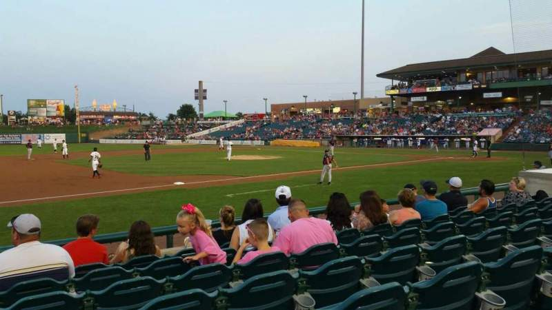 FirstEnergy Park, section: 113, row: 9, seat: 18