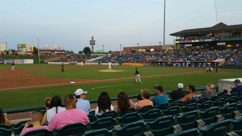 FirstEnergy Park, section: 113, row: 9, seat: 15