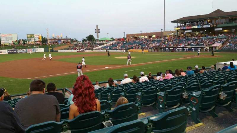 FirstEnergy Park, section: 114, row: 14, seat: 4