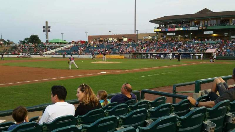 FirstEnergy Park, section: 114, row: 6, seat: 9