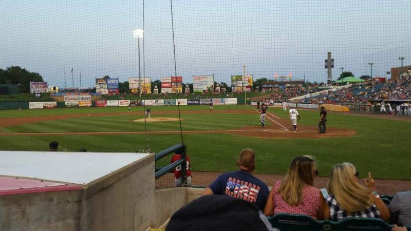 FirstEnergy Park, section: 110, row: 8, seat: 17