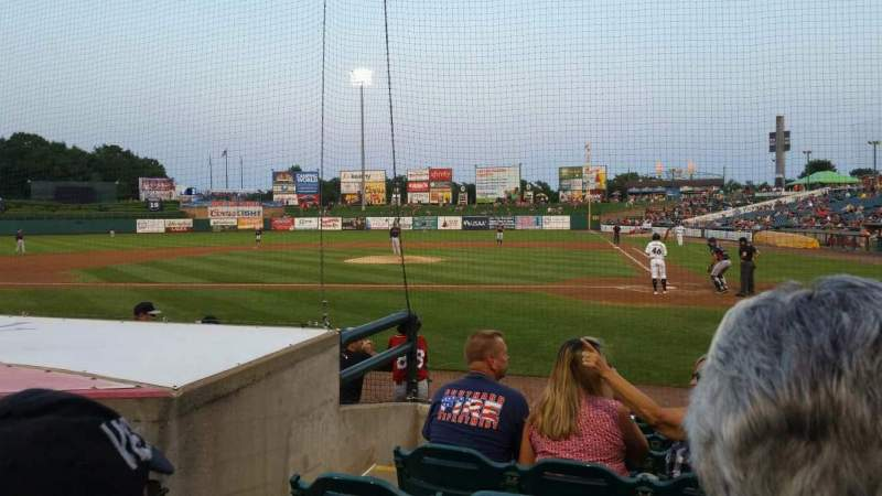 FirstEnergy Park, section: 110, row: 8, seat: 16