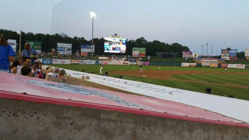 Seating view for FirstEnergy Park Section 110 Row 8 Seat 18