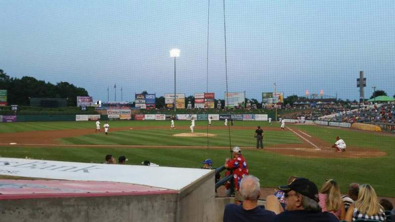 Seating view for FirstEnergy Park Section 110 Row 10 Seat 18