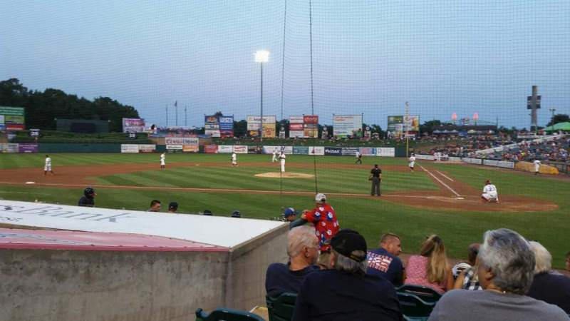 Seating view for FirstEnergy Park Section 110 Row 10 Seat 17