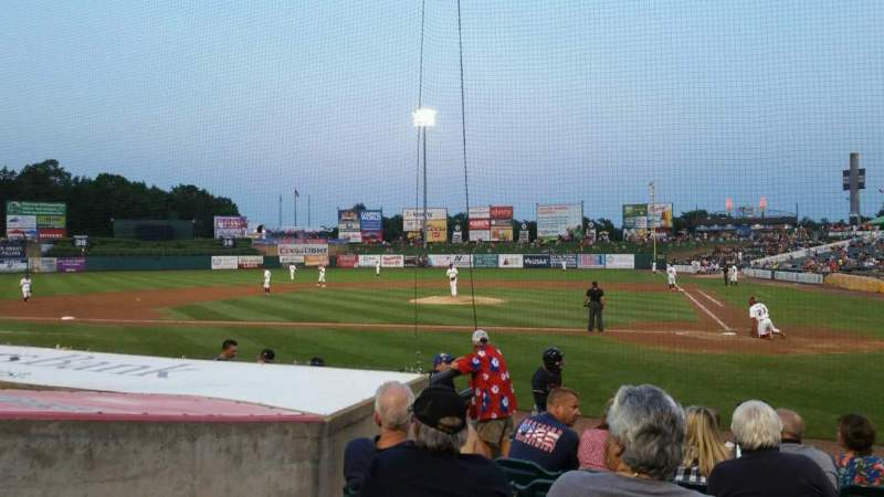 Seating view for FirstEnergy Park Section 110 Row 10 Seat 16