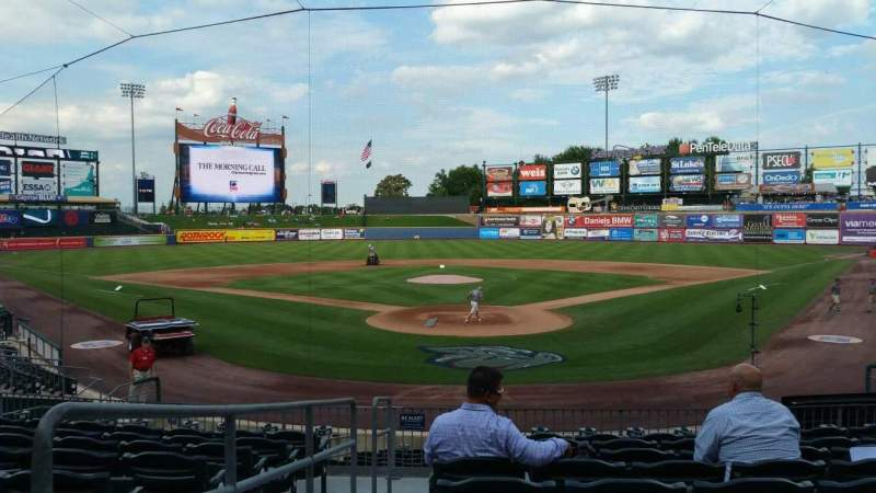 Seating view for Coca-Cola Park Section 112 Row T Seat 1