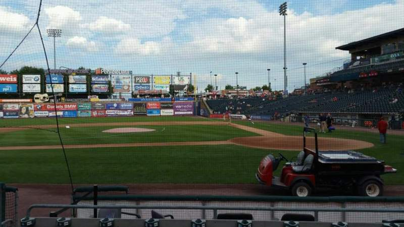 Seating view for Coca-Cola Park Section 116 Row G Seat 7