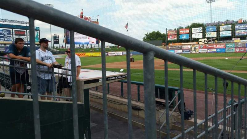 Seating view for Coca-Cola Park Section 116 Row G Seat 4