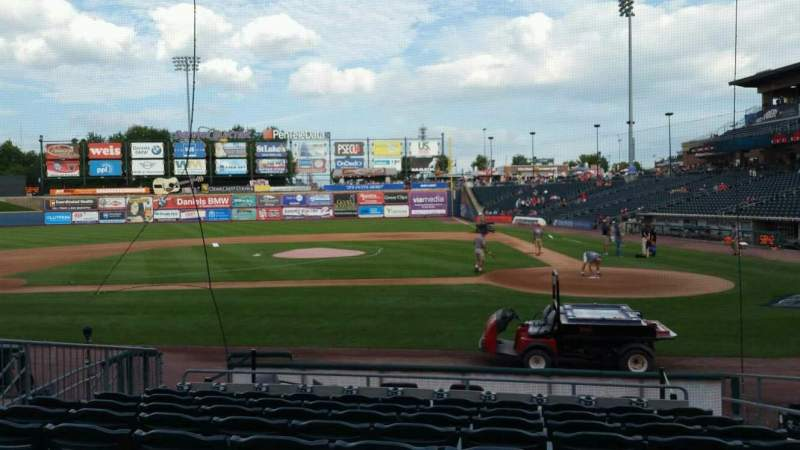 Seating view for Coca-Cola Park Section 116 Row L Seat 4