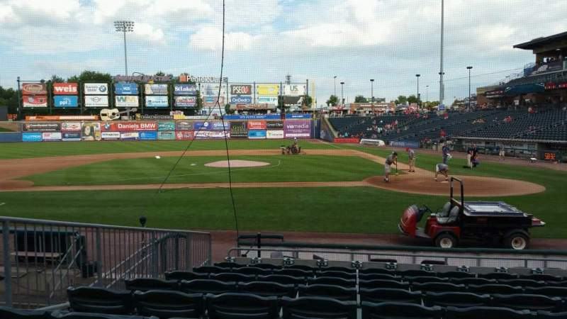 Seating view for Coca-Cola Park Section 116 Row L Seat 8