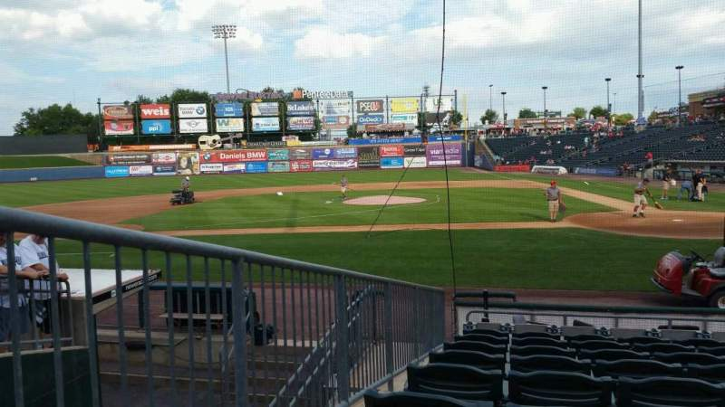 Seating view for Coca-Cola Park Section 116 Row L Seat 11