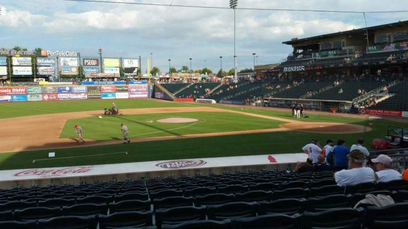 Seating view for Coca-Cola Park Section 117 Row U Seat 12