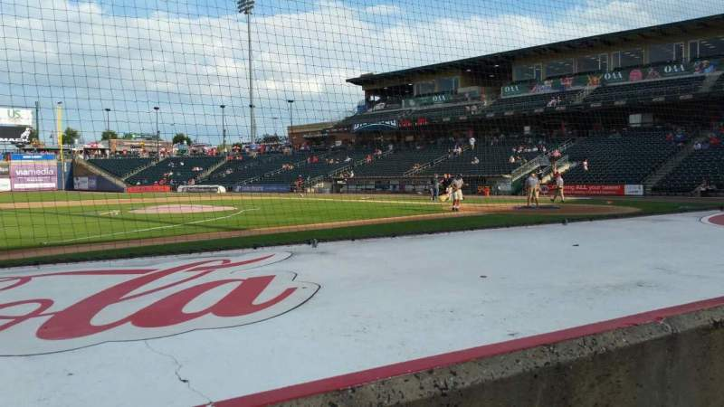 Seating view for Coca-Cola Park Section 117 Row E Seat 17