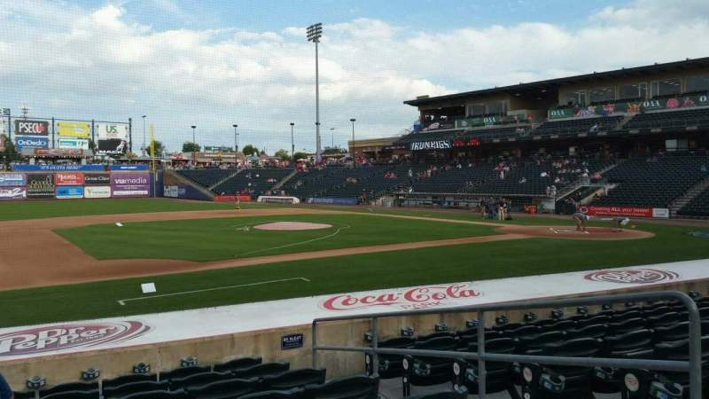 Seating view for Coca-Cola Park Section 118 Row M Seat 4