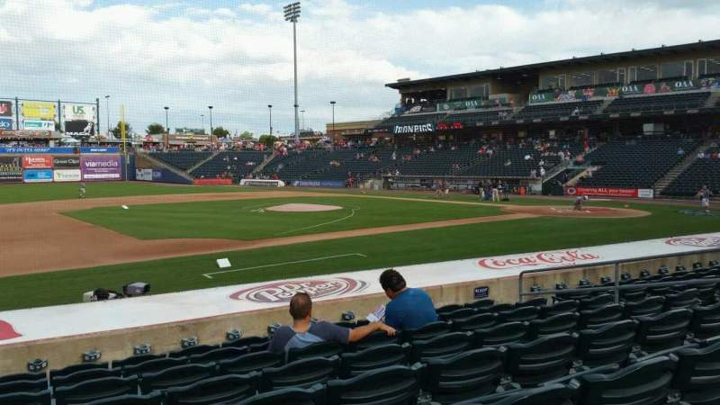 Seating view for Coca-Cola Park Section 118 Row M Seat 11