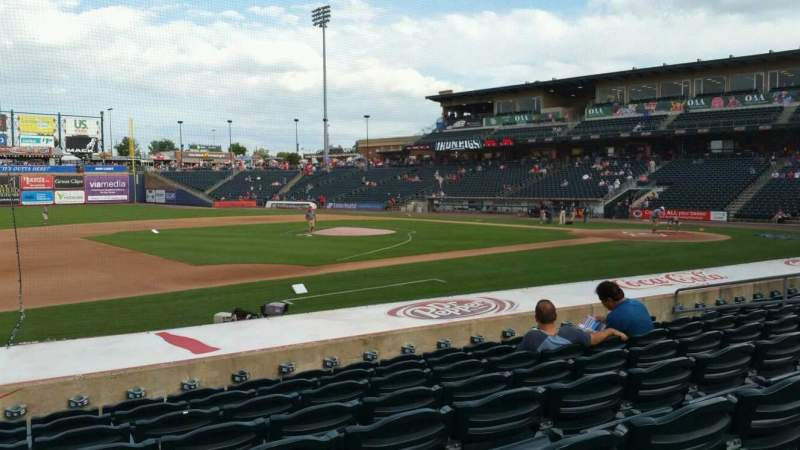 Seating view for Coca-Cola Park Section 118 Row M Seat 15