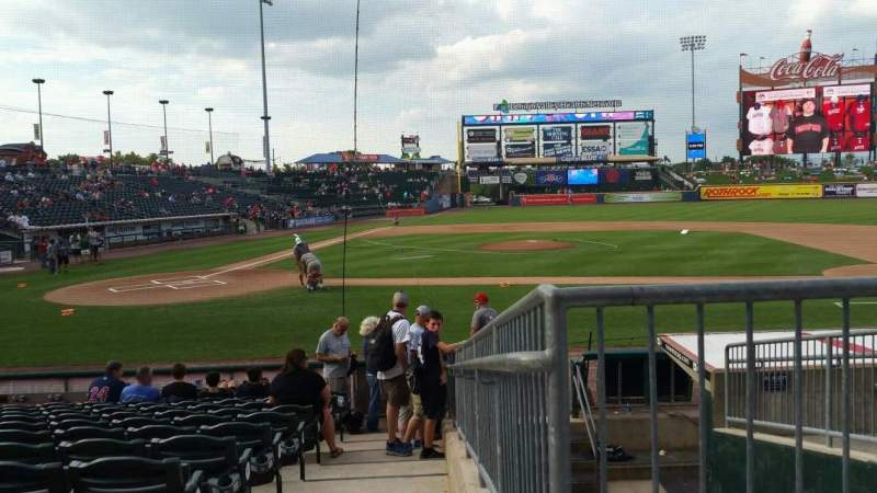 Seating view for Coca-Cola Park Section 108 Row M Seat 15
