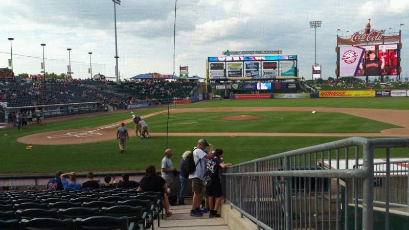 Seating view for Coca-Cola Park Section 108 Row M Seat 14