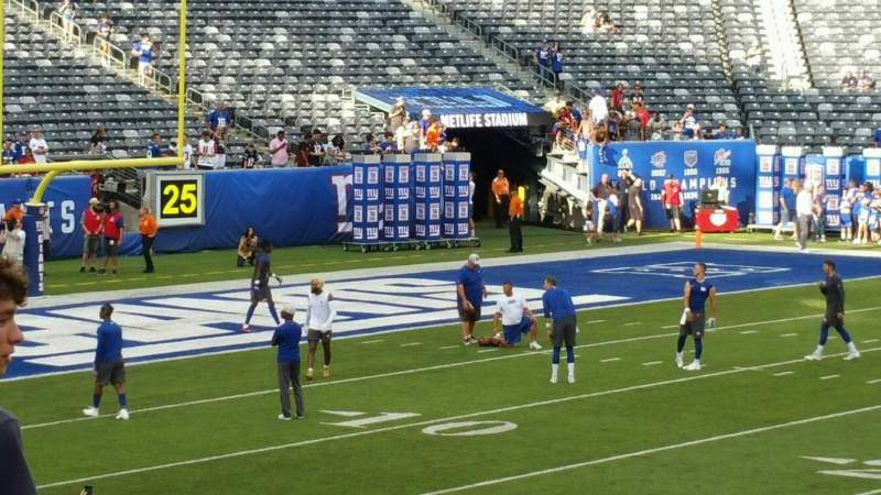 Seating view for MetLife Stadium Section 139 Row 27 Seat 27