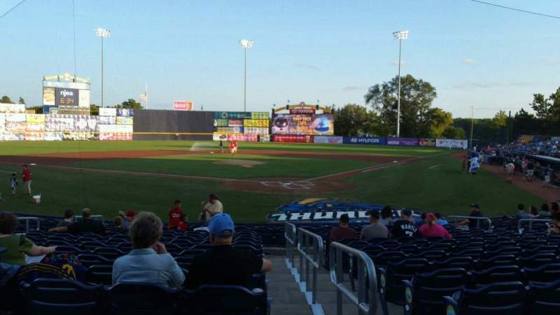 Seating view for Arm & Hammer Park Section 211 Row L Seat 1
