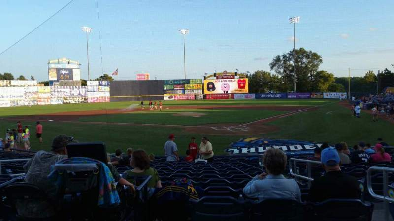 Seating view for Arm & Hammer Park Section 211 Row L Seat 4