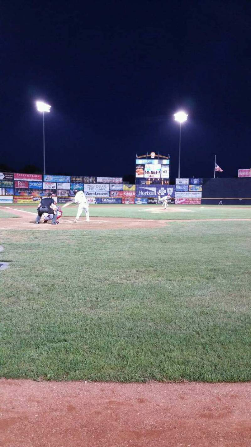 Seating view for Arm & Hammer Park Section 110 Row AA Seat 7