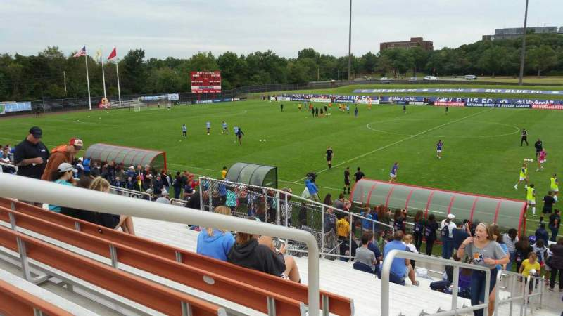 Seating view for Yurcak Field Section 3 Row 18 Seat 22