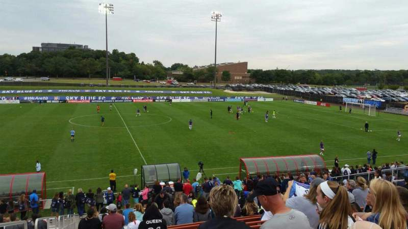 Seating view for Yurcak Field Section 5 Row 23 Seat 22