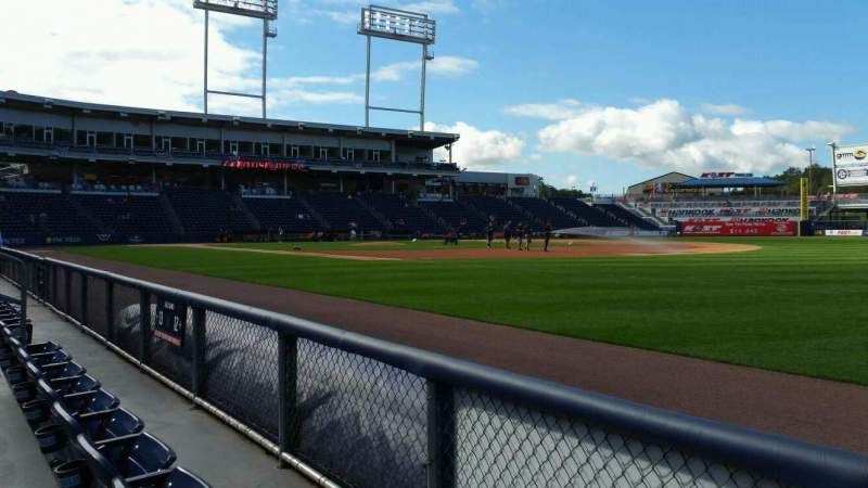 Seating view for PNC Field Section 12 Row 2 Seat 4