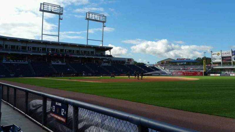 Seating view for PNC Field Section 12 Row 2 Seat 9