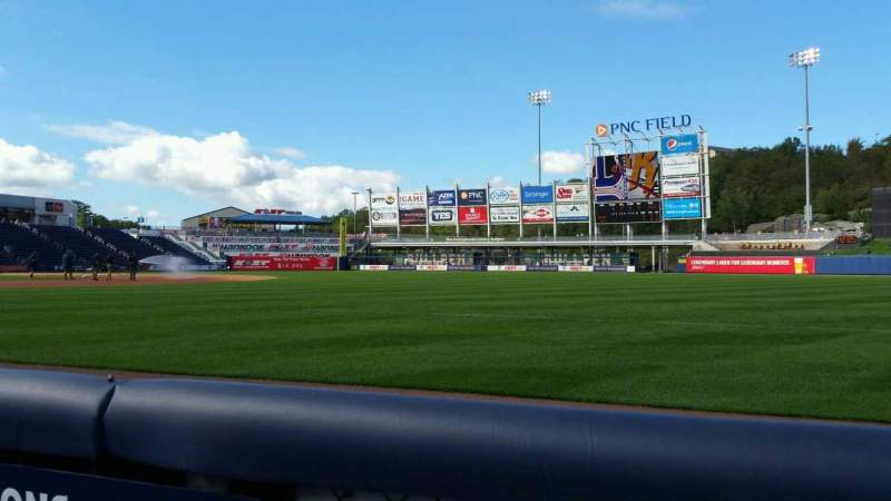 Seating view for PNC Field Section 11 Row 1 Seat 16